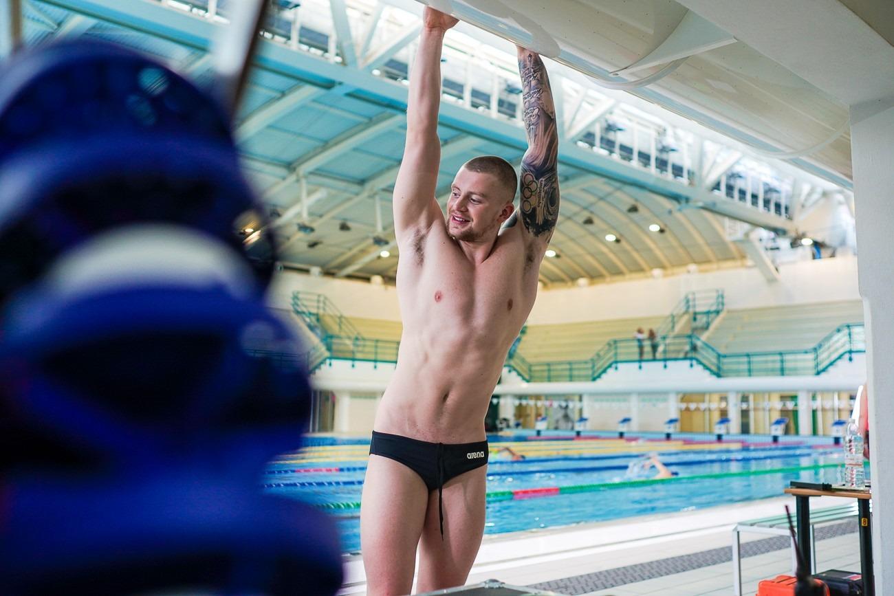 Adam Peaty breaststroke